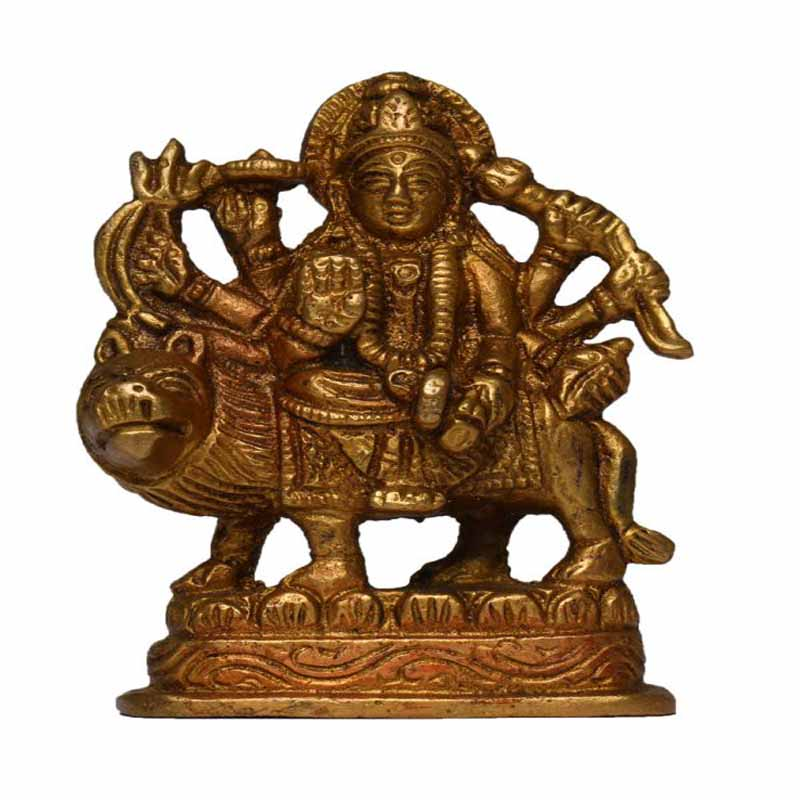 Maa Durga Idol of Brass
