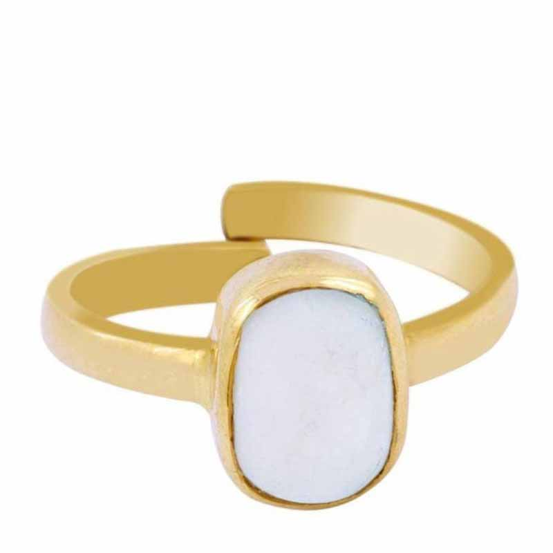 Opal Natural Stone Ring
